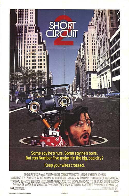 Короткое замыкание 2 / Short Circuit 2 (1988) DVDRip