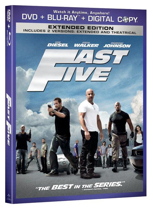 Форсаж 5 / Fast Five (2011) HDRip