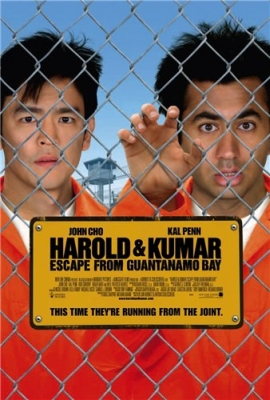 Гарольд и Кумар 2 / Harold & Kumar Escape from Guantanamo Bay (2008) DVDRip
