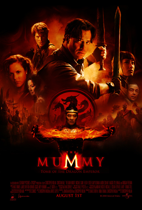 Мумия: Гробница Императора Драконов / The Mummy: Tomb of the Dragon Empero (2008) DVDRip