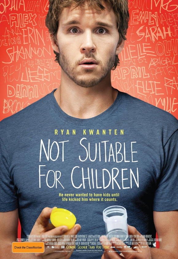 Помогите стать отцом / Not Suitable for Children (2012) HDRip
