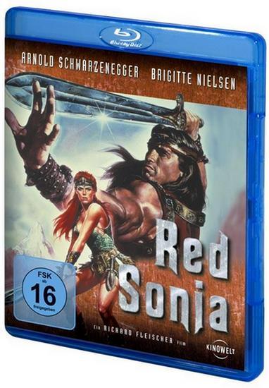 Рыжая Соня / Red Sonja (1985) DVDRip