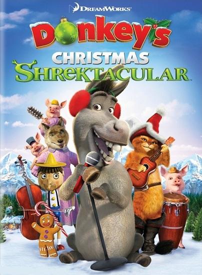 Ослино-шрекастое Рождество. Камин у Шрека / Donkey's Christmas Shrektacular. Shrek's Yule Log (2010) DVDRip