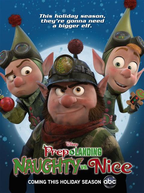 Секретная служба Санты: Шалуны против послушных / Prep and Landing: Naughty vs Nice (2011) HDTVRip