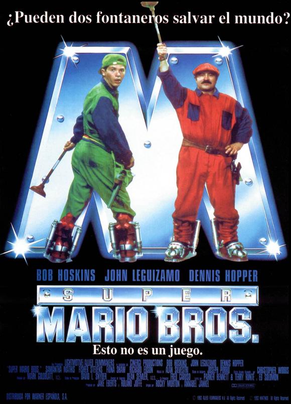 Супер братья Марио / Super Mario Bros (1993) DVDRip