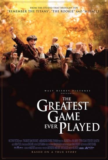 Лучшая игра на свете / Триумф / The Greatest Game Ever Played (2005) DVDRip