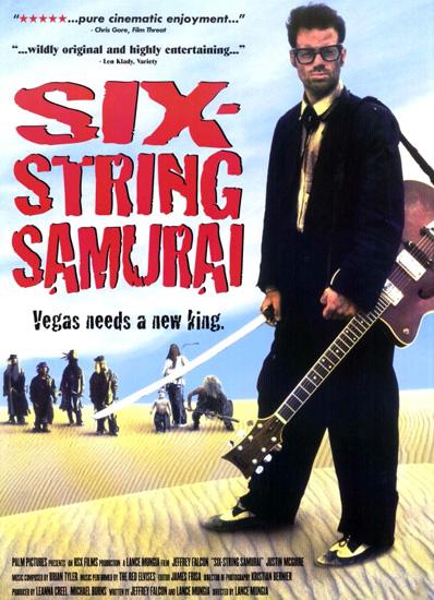 Шестиструнный самурай / Six-String Samurai (1998) DVDRip